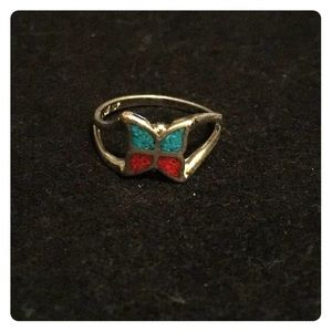 Native American butterfly ring